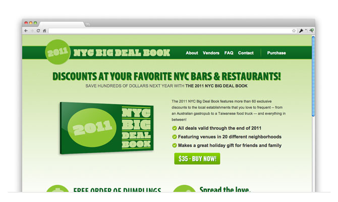 New York City Genesis WordPress Site