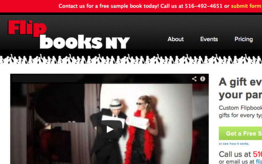 Flipbooks NY Website